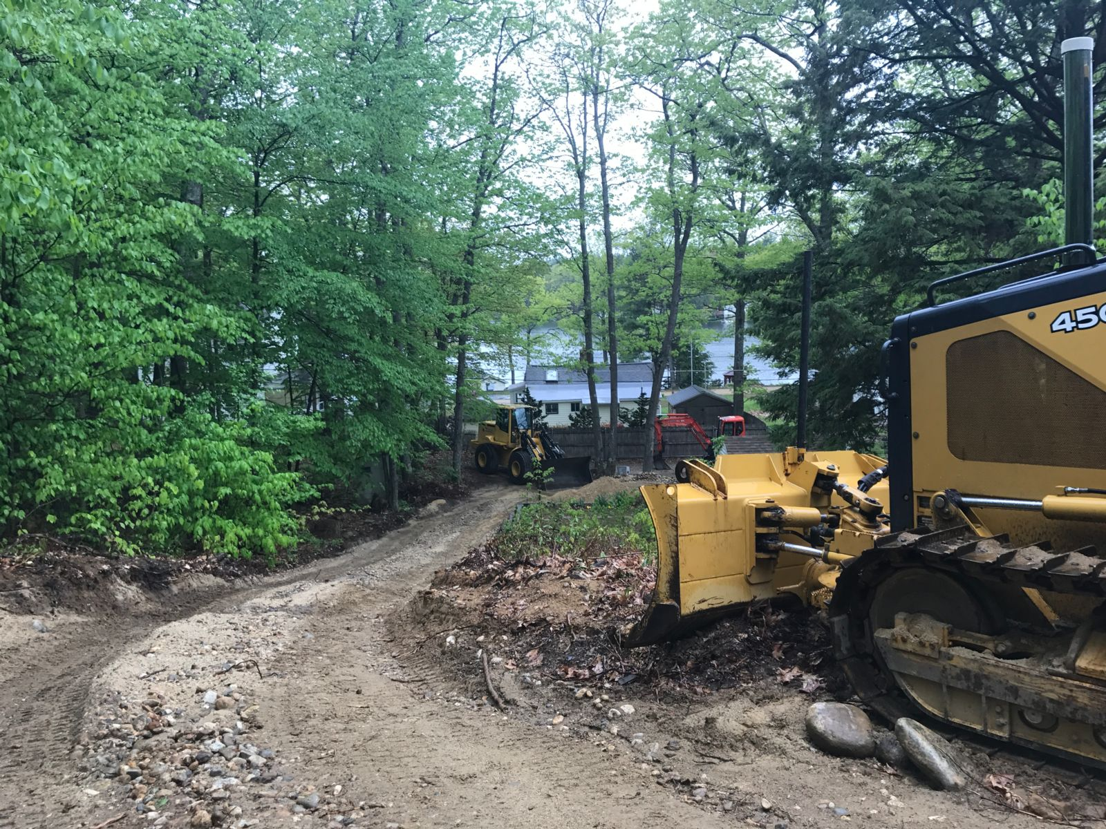 Septic Installation by Massachusetts Lake