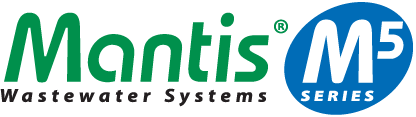 Mantis M5 Wastewater Systems logo